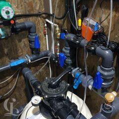 Фильтровальное оборудование для композитного бассейна комплект (Фото 2)