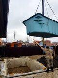 Доставка и установка композитного бассейна Немецкая деревня (2)