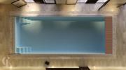 Franmer Ксабия Бассейн со встроенным сматывающим устройством с ролетным покрытием