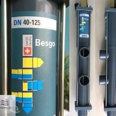 Автоматический клапан обратной промывки фильтра в бассейне Besgo